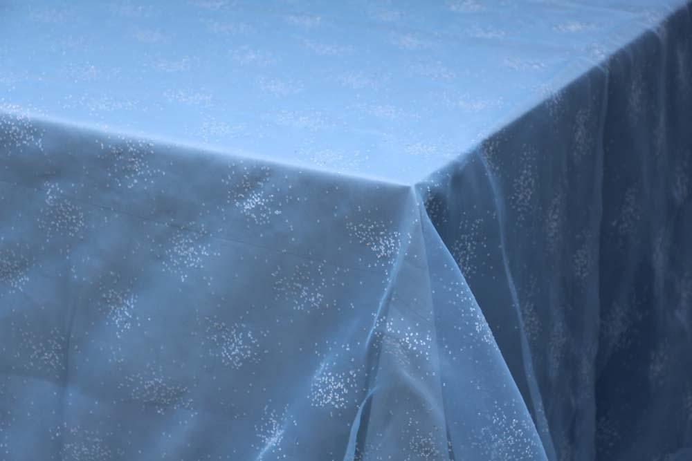 Blue Sugar Glitter Table Manners