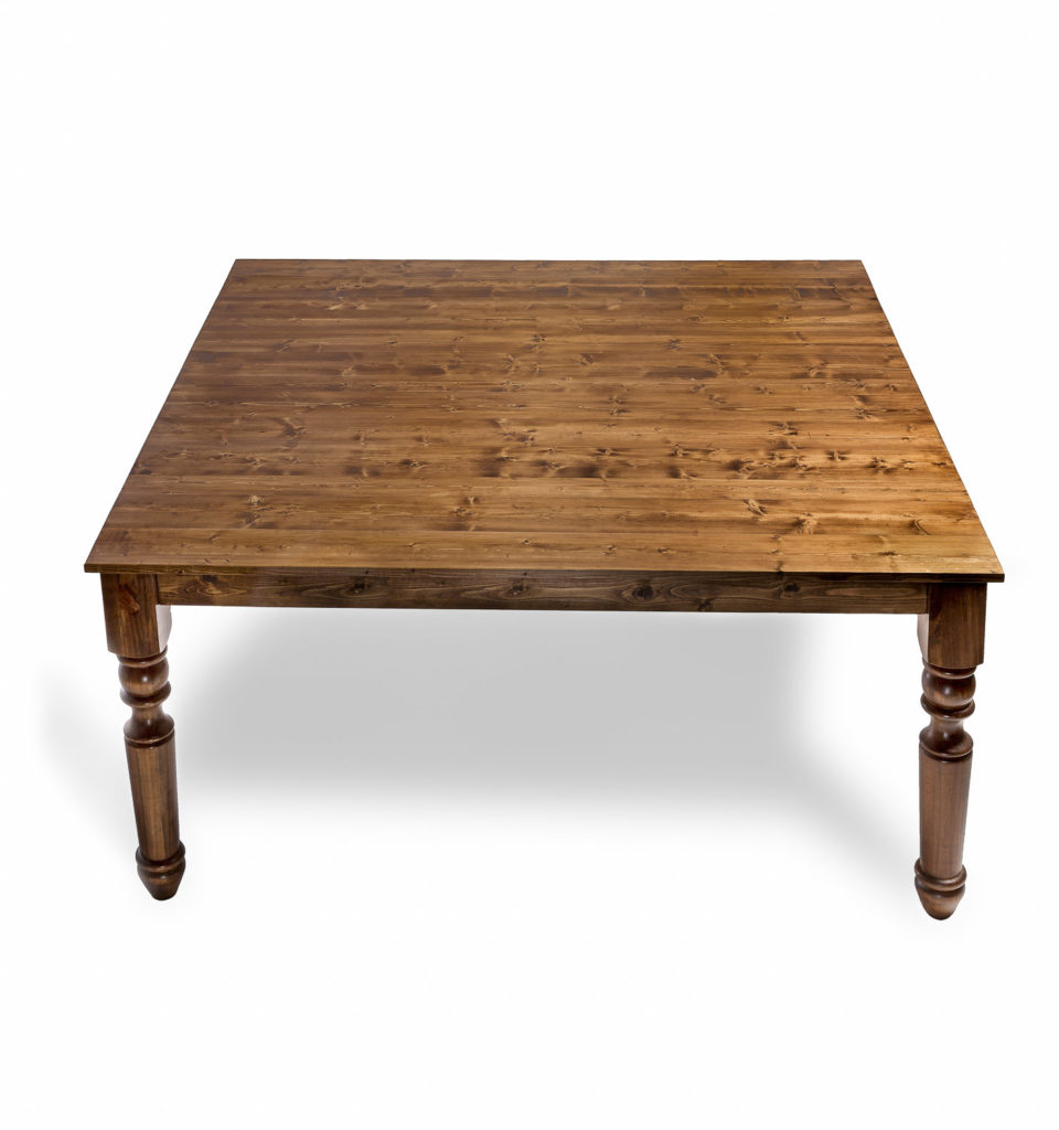 Wooden Table Square Table Manners
