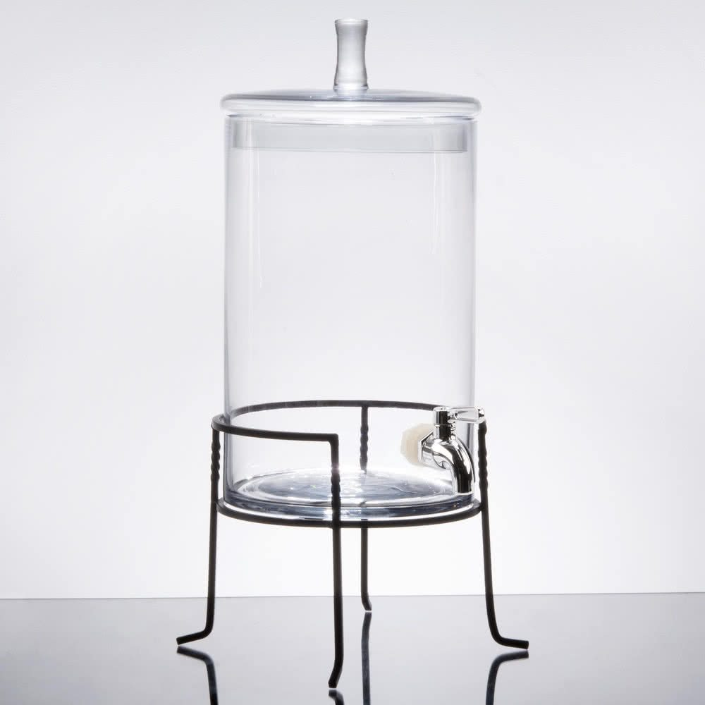 Glass Beverage Dispenser Table Manners