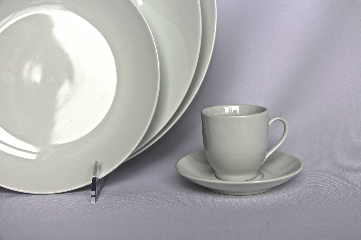 White Coupe China Table Manners